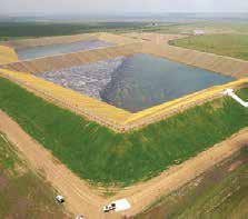 Brine Retention Pond