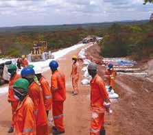 Mkuju River Access Road